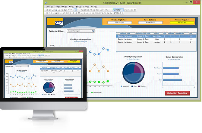SAP Crystal Dashboard Design